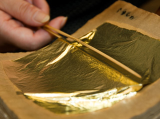 kanazawa the marsh of gold and gold leaf 昇龍道 samurai story